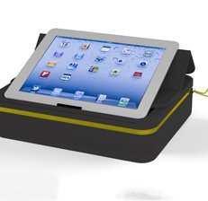 headset and tablet soft case
